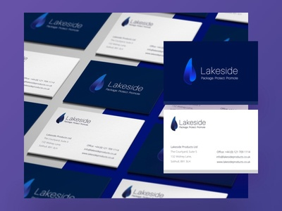Lakeside Branding graphic design business card mock up cards business identity design inspiration logo mock up branding