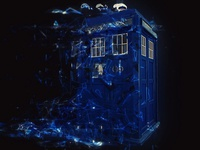 Tardis fan art
