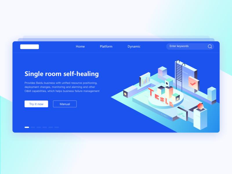 tesla website design web