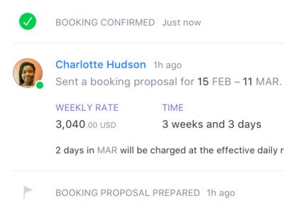Booking Proposal