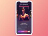 Movie app- Actors Screen