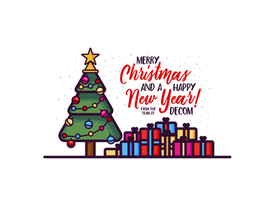 Merry Christmas and a Happy New Year! holidays gifts tree decom year new happy christmas merry