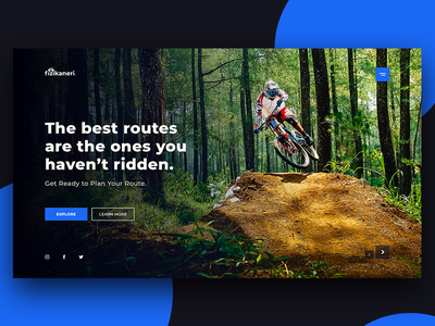 Bike Route Planning biking adventure nature green decom planning route riding bike blue