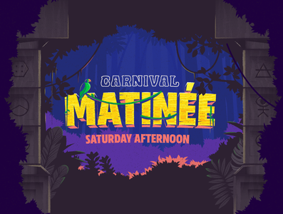 Carnival Matinee Poster Illustration