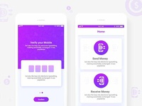 Send Money Apps UI