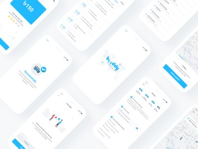 Buddy Ride Sharing Apps UI