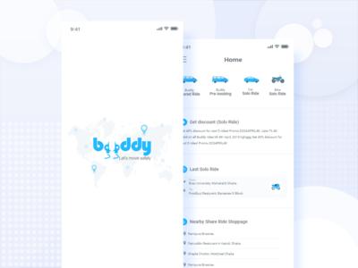 Ride Sharing Apps UI