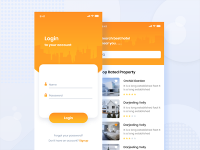 Hotel Booking Apps UI