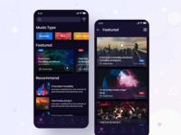 Music App UI.