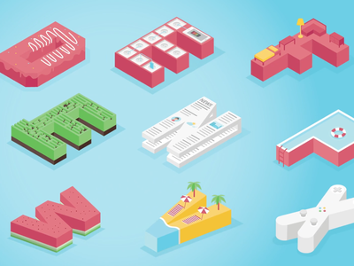 Isometric Type type ae illustration isometric type aftereffects isometric alphabet typography alphabet