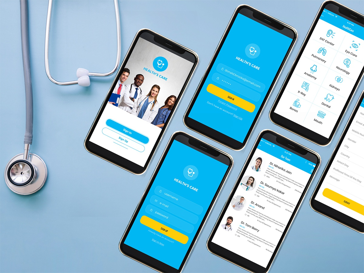Healthcare app development 262459