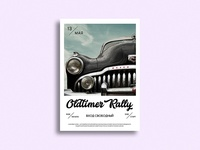 Oldtimer Rally Poster