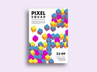 Pixel Squad Poster