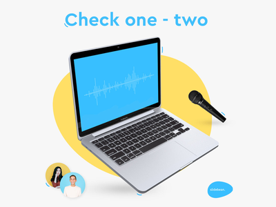 Audio Feature Announcement onboarding marketing graphicdesign slidebean social media post announcement new feature design