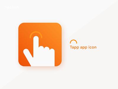 Daily UI 005 App Icon ios design icon design illustration tapp app icon icon app ui design uiux ui daily 100 challenge dailyui005 daily ui 005 daily 005 daily ui dailyui