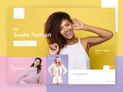 Suede Fashion - Simple store concept