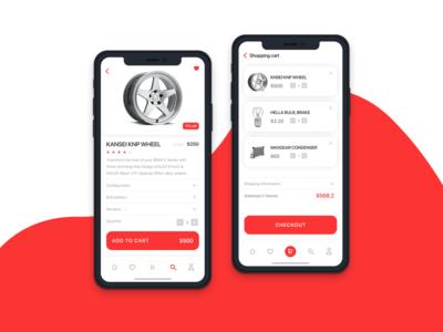 Auto Parts - Mobile app