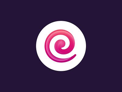 Candyloop Casino: Branding loop infinity candy lollipop candyloop branding identity