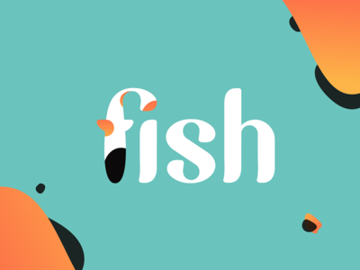 Fish: Branding type caligraphy lettering animal logo portuguese agency identity fish logo fish animal branding