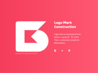 Bookmakers24: Logo mark construction