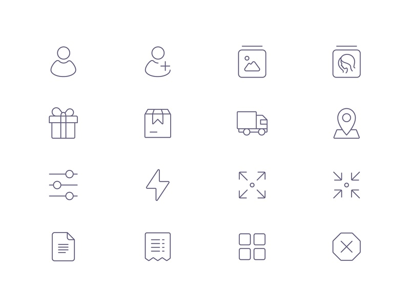 Tender Icons: Interface Vol. 2 ecommerce ios 13 icons app icons product icons interface icons design agency icons pack icon set iconset icons