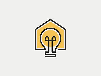 LightHouse Alternative lightbulb light bulb light bulb logo electric house home lighthouse light house