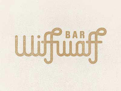 Wiffwaff ping pong wiff waff table tennis logo bar