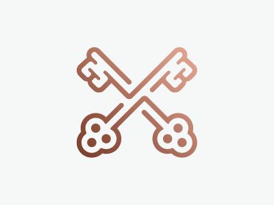 Cross Keys cross keys cross keys x logo