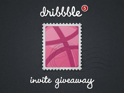 Dribbble Invite dribbble invite invite stamp postage stamp dribbble