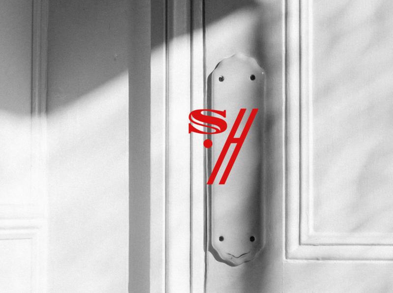 Stay Home Hotel stayhomehotel monogram letter mark branding design typography logo typography stayhome logo mood mood board art direction monogram logo monogram