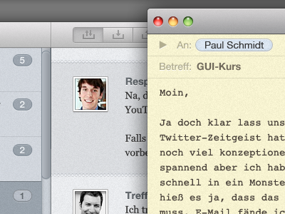Compose a mail with Chummy