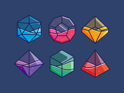 Animated Role-Playing Dice icon set icons liquid potion magic items game dungeons and dragons dnd d20 dice