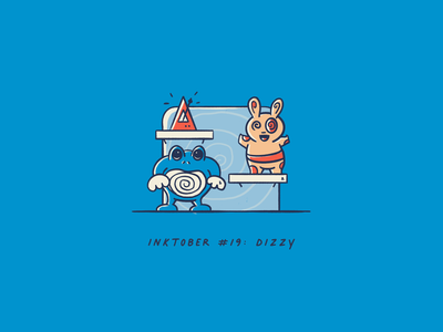 Vectober 2020 #19: Dizzy illustration procreate pokemon vectober2020 vectober inktober2020 inktober dizzy