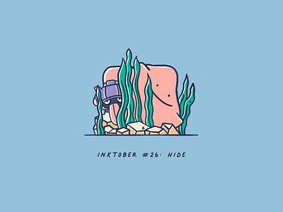Vectober 2020 #26: Hide illustration vectober2020 inktober2020 vectober inktober fan art procreate hide pokemon ditto