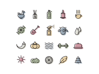Fragrance Note Icons