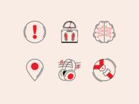 Smart Car Icons