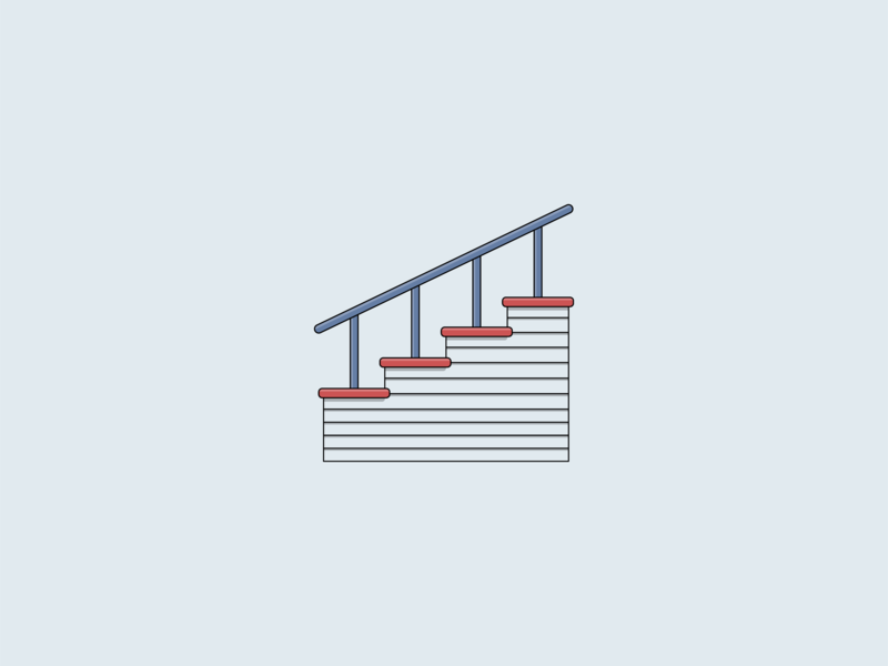 Stairs shiplap house design rail stairway staircase interior house panel stairs