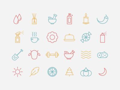 Scent Icons