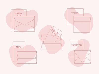 Envelope Sizes thank you rsvp married invite invitation wedding invitation wedding invite wedding card wedding envelope