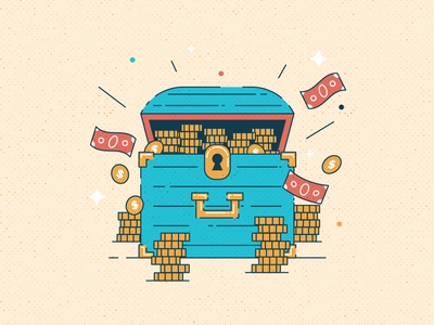 Treasure Chest finances coins cash treasures finance money treasure chest chest treasure