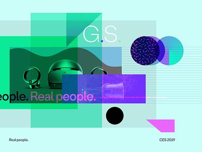 Real People. motion design 2d animation adobe branding 2d typography design illustration