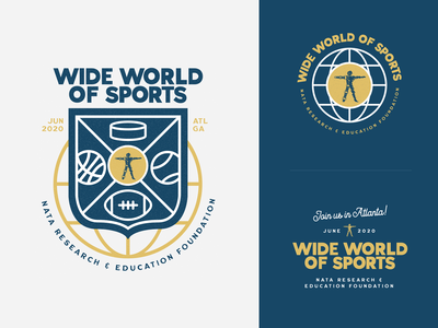 """Wide World of Sports"" Event Brand Concept"