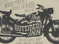 Warby Parker x House of Plates Poster
