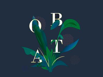 Plants & Typo