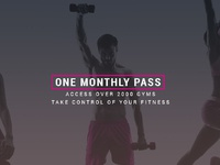 One monthly pass 2