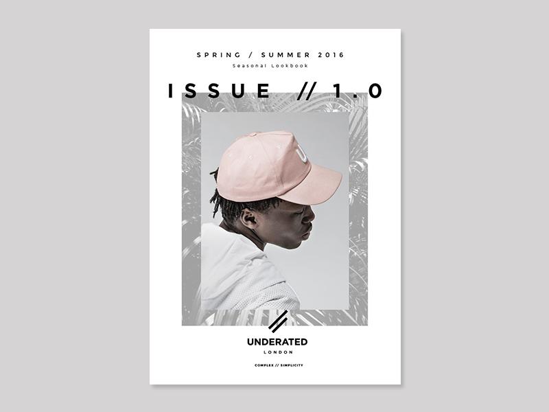 SS16 LOOKBOOK Underated London design lookbook fashion