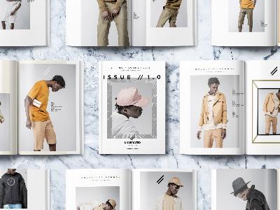 Underated London SS16 Lookbook lookbook print fashion