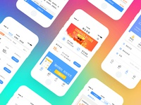 Financial App  page
