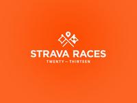 Strava Races Logo
