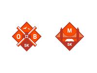 Strava Races: 5K Badges